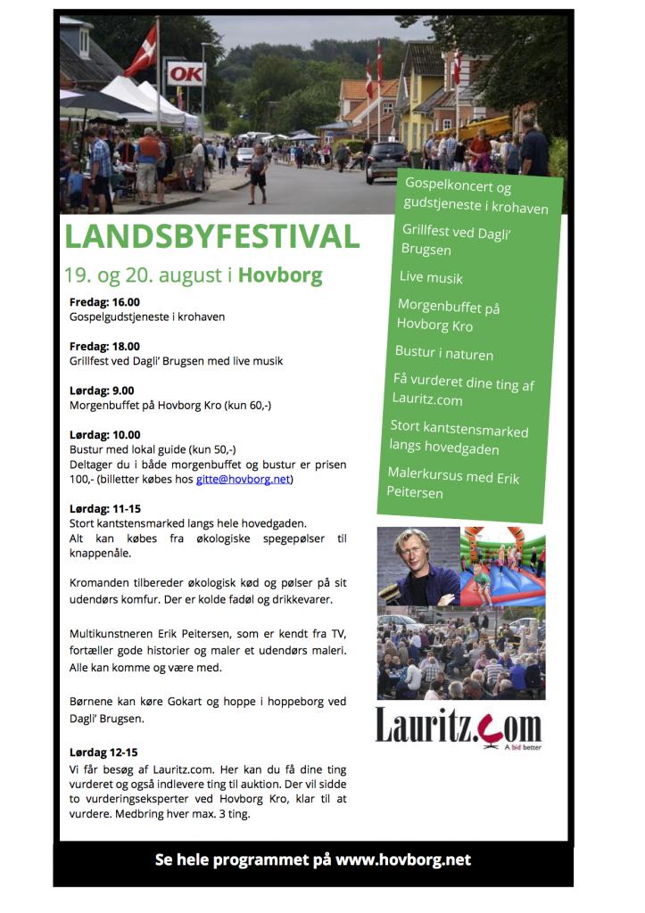 Landsbyfestival program