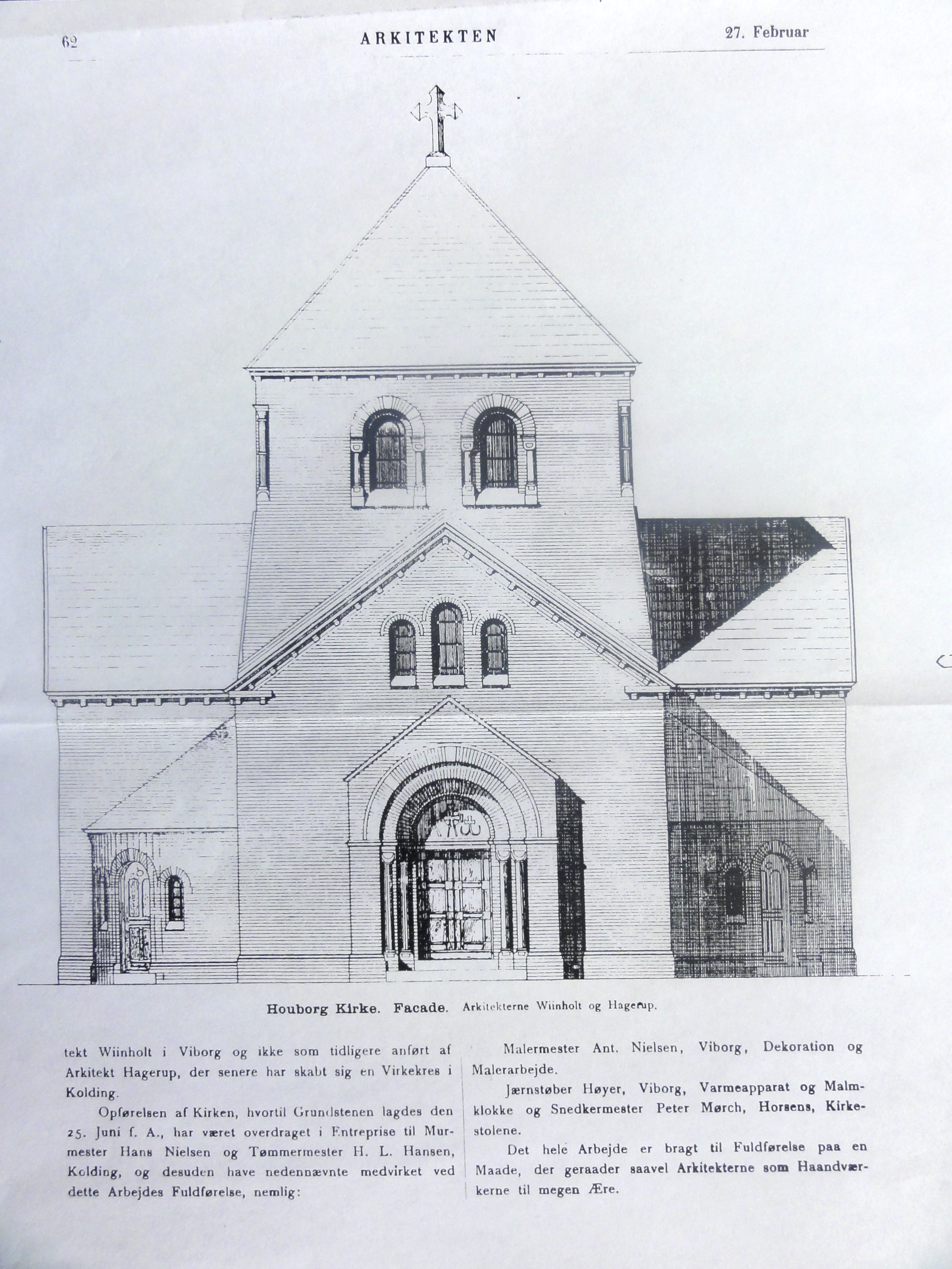 Arkitekten 27. februar 1896 s. 2